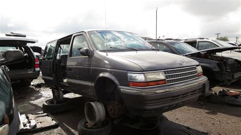 car engine manuals 1993 plymouth voyager navigation system junkyard find 1993 plymouth voyager with five speed manual the truth about cars