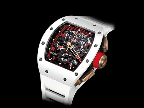 Richard Mille Rm011 Skull Blk Gld the white chronograph by richard mille