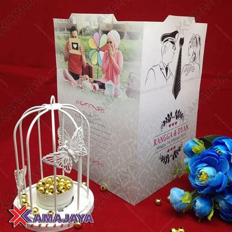 undangan pernikahan murah  unik harga  kamajaya