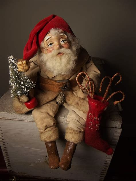 Handmade Santa Claus Dolls - 950 best the jolly images on papa noel