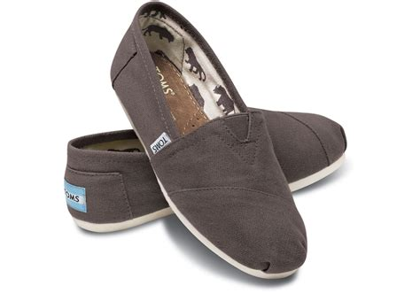 tom shoes ash canvas s classics toms 174