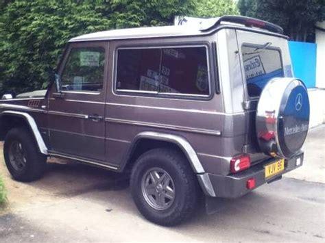 Sale G for sale mercedes g wagen 300 gd brabus 3 door manual