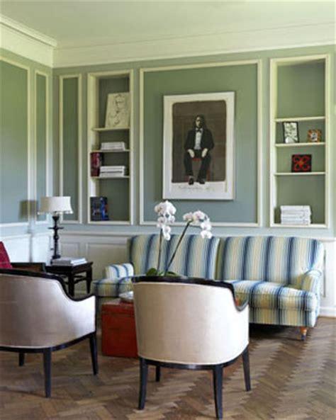 striped rooms striped sofa in green room katy elliott