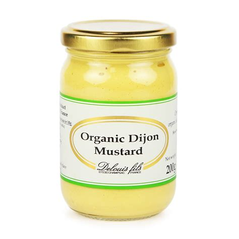 Organic Dijon Mustard by Organic Dijon Mustard Delouis 200g Buy Whole Foods