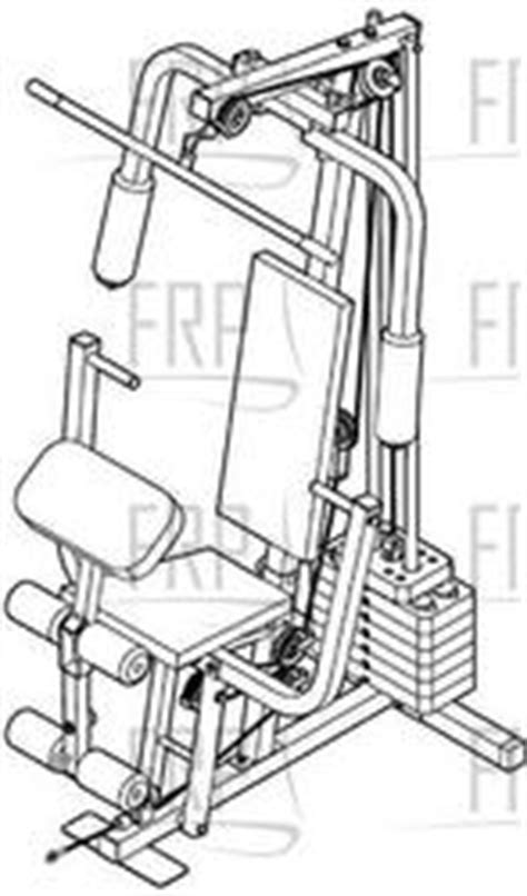weider 8525 system wesy19512 fitness and exercise