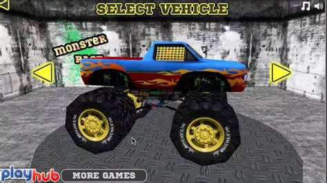 monster truck video game monster truck games videos for kids youtube gameplay 10