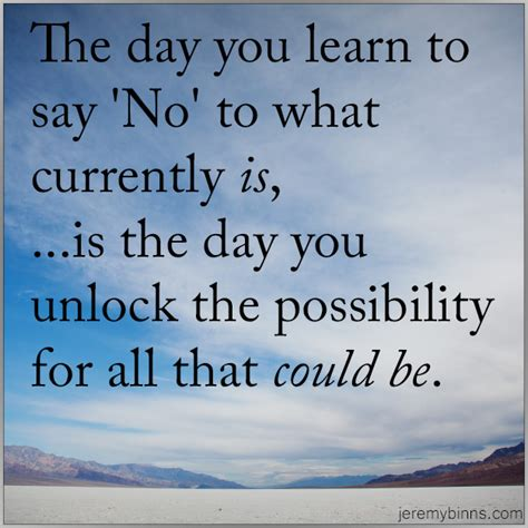5 days day 2 the day you learn to say no