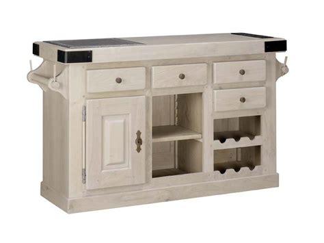meuble billot cuisine billot paros en ch 234 ne massif meuble de cuisine rustique