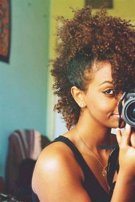 side mohack with real hair 10 images about black girls hair on pinterest bantu