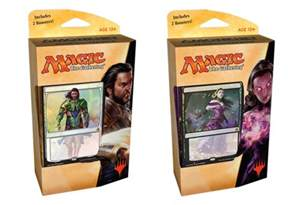 magic karten decks amonkhet packaging and planeswalker decks