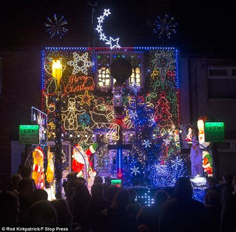 family s christmas lights use so much power they can t