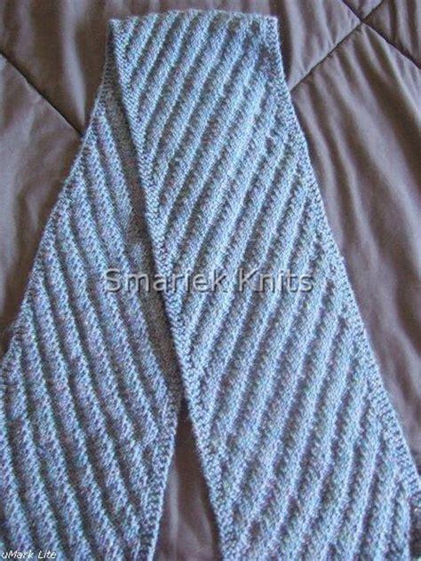 knitting pattern diagonal scarf two diagonal scarves flora smariek knits