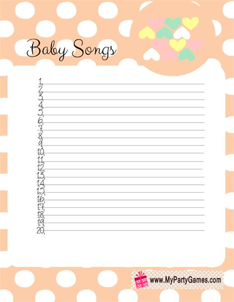 Songs With Baby In The Title Baby Shower by How Many Songs Can You Name With Baby In The Title