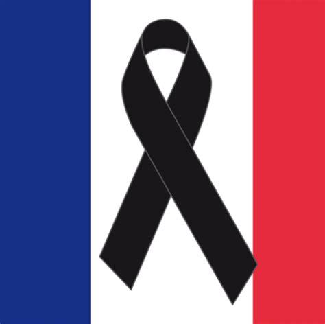 imagenes luto en paris descargar bandera de francia de luto gratis lazos de