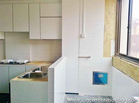 space  rubbish chute kitchen decor apartment