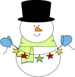 Snowman mittens festive snowman clip art image