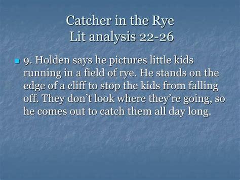 holden caulfield analysis catcher in the rye analysis essay the catcher in the rye