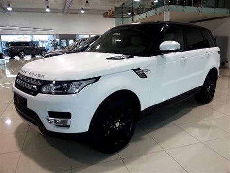 matte maroon range rover matte white range rover sport cars