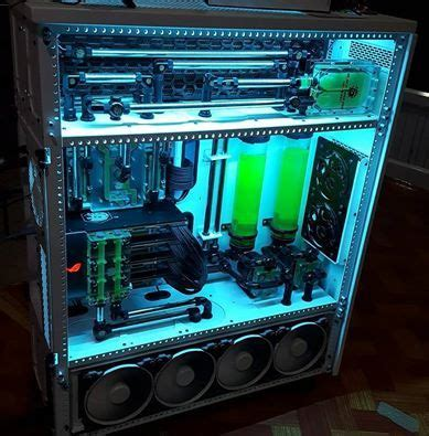 coolest pc rigs 17 best images about pc mods water cooling on
