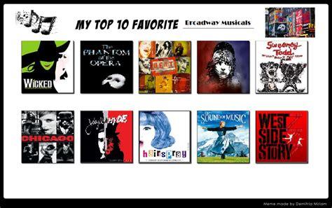 best musicals my top 10 favorite broadway musicals description by