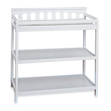 Child Craft London Euro Flat Top Changing Table In Matte White Changing Table