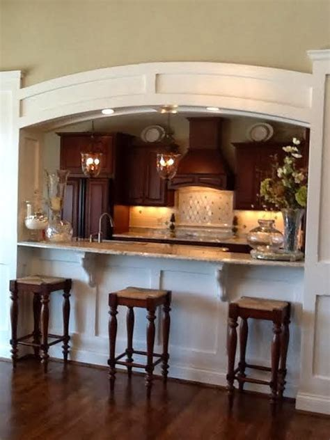 Kitchen To Dining Room Pass Through by Best 25 Pass Through Kitchen Ideas On Half Wall Kitchen Load Bearing Wall And
