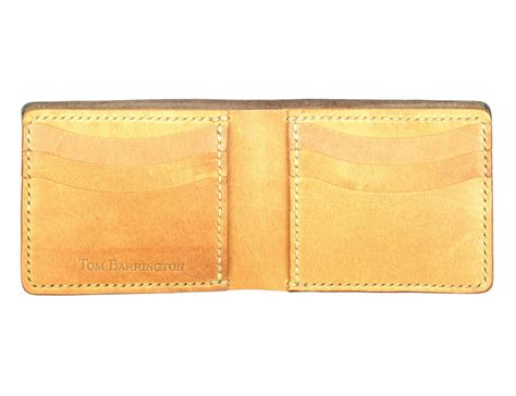 Leather Wallet Handmade - handmade brown leather bifold wallet 187 gadget flow
