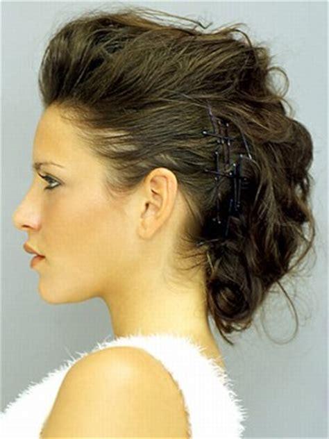 Hochzeitsfrisur Dunkelblond by Hochsteckfrisuren Kurze Haare Frisuren Kurze Haare