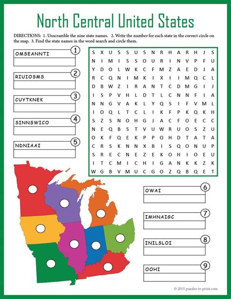 south america map and review worksheet answers us geography worksheet central united states