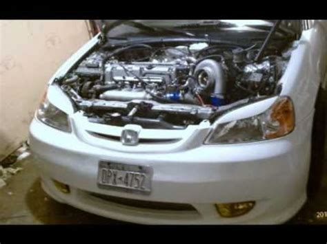 k24 k24a1 em2 turbo civic 2001 rsx k20 gt42 gt4202 civic
