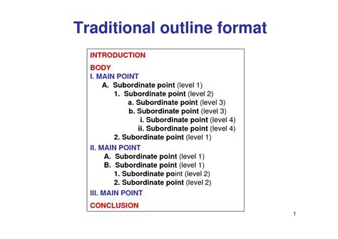 topical outline template best photos of key word outline template informative