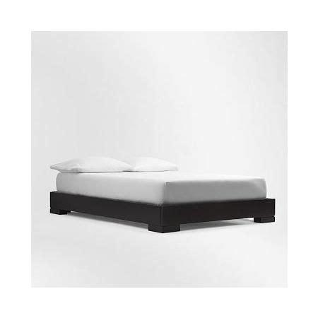 West Elm Chunky Wood Bed Frame West Elm Chunky Wood Bed Frame Slats King Chocolate Stained Veneer Brown Bedroom
