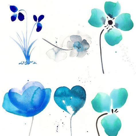 Category Designs by Download Beautiful Watercolor Flowers Photoshop Brushes