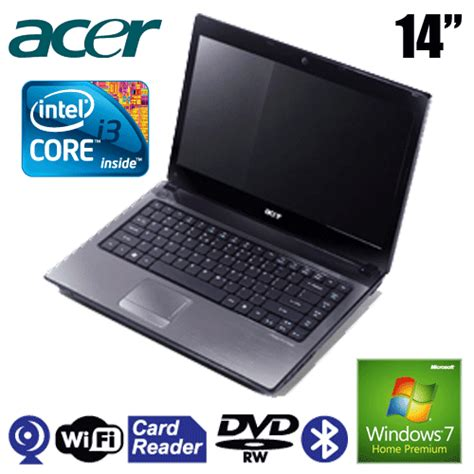 Laptop Acer Aspire 4738 Intel I3 review notebook specification feature and price price and specification cheap notebook quot acer