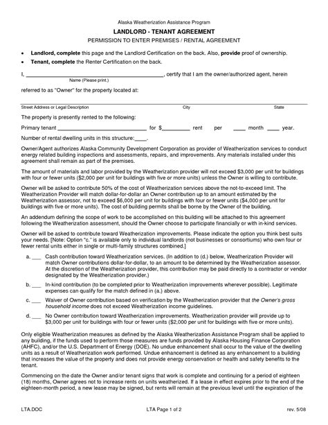 printable landlord lease agreement best photos of printable lease agreements for landlords