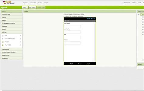 desain layout android cara membuat aplikasi android tanpa coding hanya 5 menit