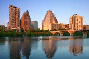 City Of Tx Usa City Skyline