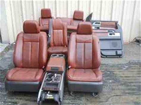 2005 ford king ranch seat covers king ranch leather seats images