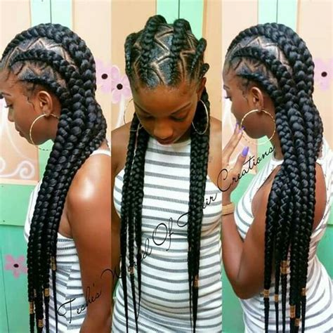 different kind of corn rolled hair styles 40 hip and beautiful ghana braids styles banana braids