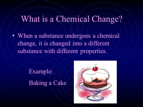 the color of a substance is a physical property physical and chemical changes ppt