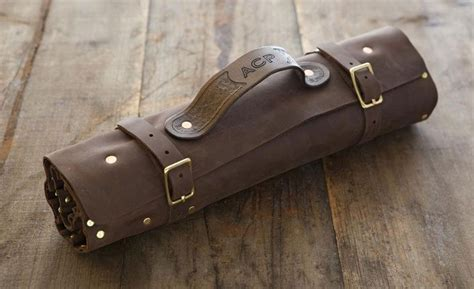 pattern knife roll own the leather knife roll professional chefs use knives