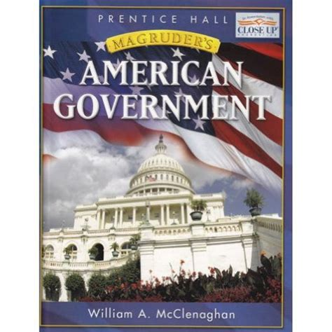 american government books magruder s american government 2007 student express with