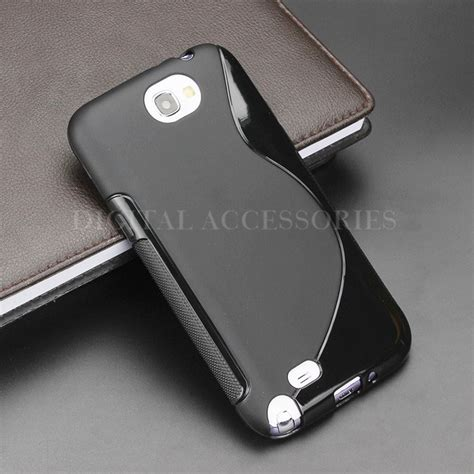 Softcase Anti Samsung Note 8 Anti Benturan Softcase 8 color s line anti skidding gel tpu slim soft back cover for samsung galaxy note 2 n7100