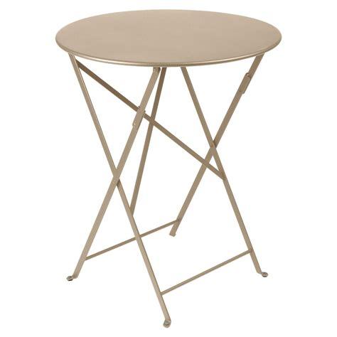 Table Pliante Exterieur 550 by Table Bistro Ronde Fermob Voltex