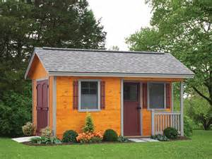 cottage style storage shed pricing options list