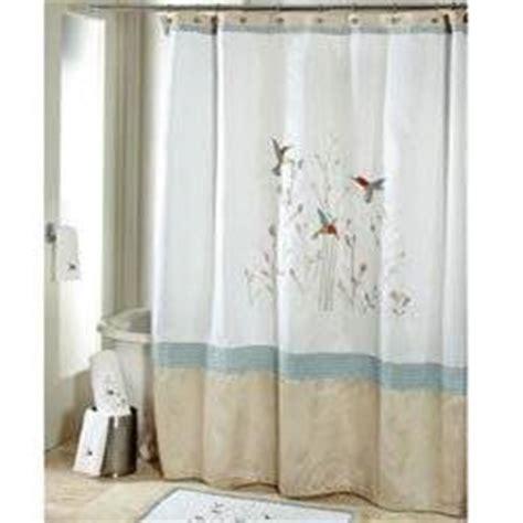hummingbird curtains com colibri fabric shower curtain hummingbirds