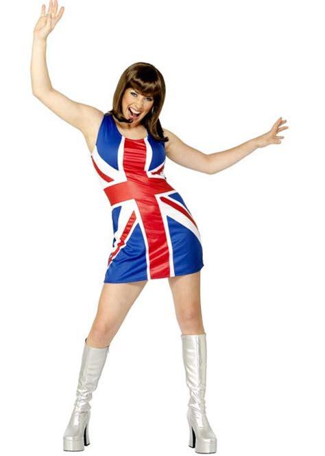 British Union Jack Flag Party Dress