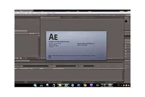 adobe after effects cs4 full download free