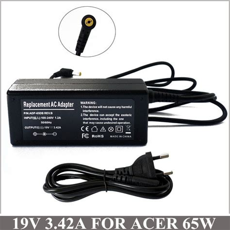 Adaptor Laptop Acer 4315 19v 3 42a new laptop ac adapter charger for netbook acer aspire 3000 3810 4315 4730z 5532 5534