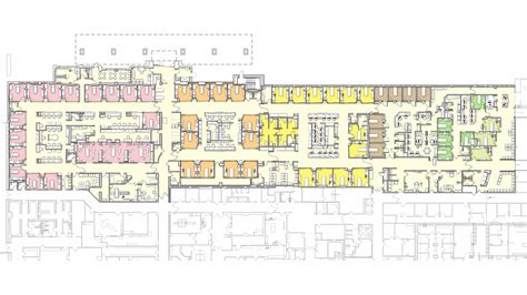 emergency department floor plan emergency department expansion renovation buckl architects